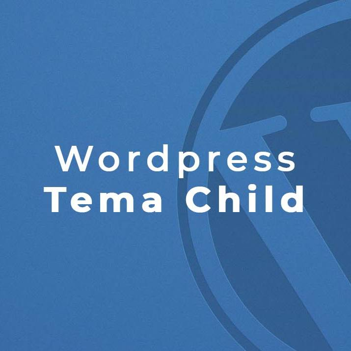 wordpress tema child per sito web
