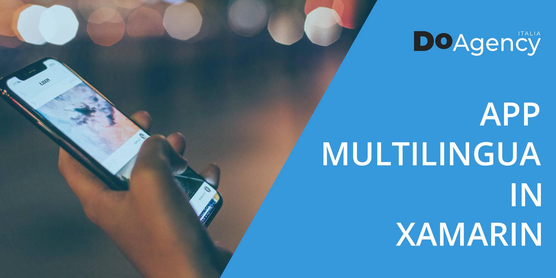 Creazione di app multilingua in Xamarin