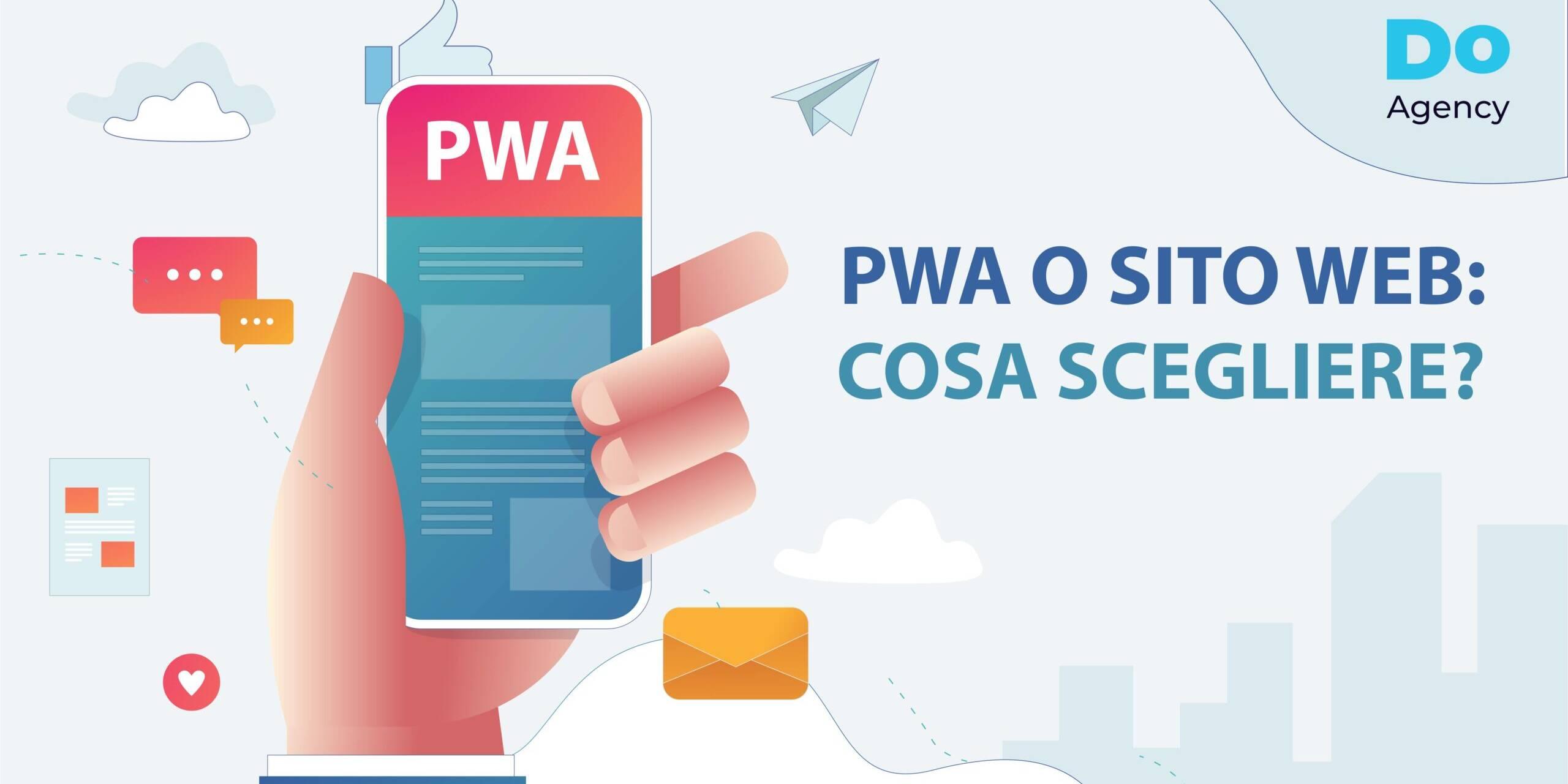 PWA o sito web cosa scegliere