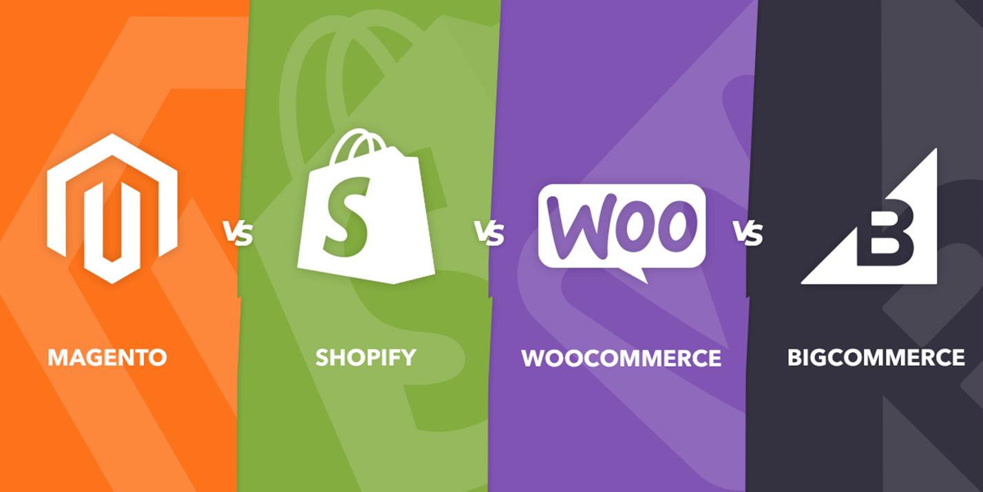 magento woocommerce shopify
